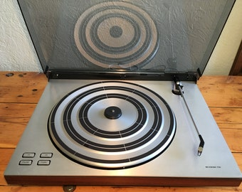 Bang and Olufsen Beogram 1700 B&O Vintage Turntable Audiophile Record Player Phonograph MMC 10 E Cartridge Good Original Stylus Gorgeous!