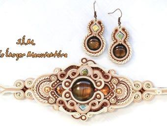 AIDA soutache jewelry sets