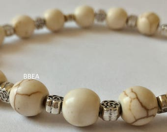 Wellness magnesite bracelet