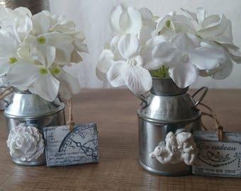 Small milk jug floral order