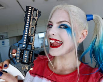 Movie accurate Engraved detail - - DIY Kit 3D Printed Harley Quinn's Revolver from Suicide Squad