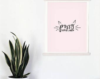 Pussy Grabs Back Print (5x7)