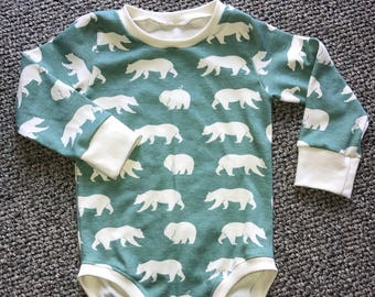 Boys Birch Organic Bodysuit | Multiple Prints Available