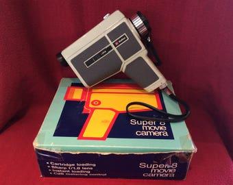 Halina Super 8 Movie Camera PS/200/RD