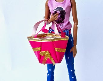 Barbie clothes - Barbie bag - Barbie accessories, Fashion Royalty doll clothes, Poppy Parker, doll clothes, 12 inches figure clothes