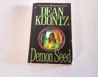 Demon Seed by Dean Koontz  Paperback  Horror