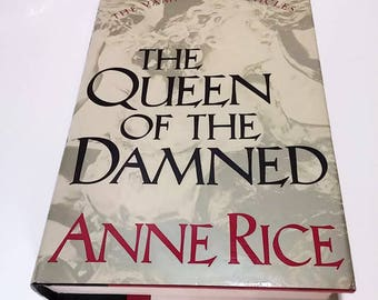 Queen of the Damned by Anne Rice  Hardcover  Horror