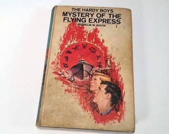 The Hardy Boys #20, Mystery of the Flying Express by Franklin W. Dixon  Hardcover   Mystery/Adventure