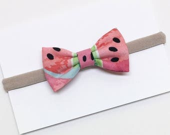 Baby Girl Hair Bows - Watermelon - Girl Hair Bows  - Clips or headbands