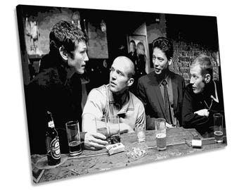 Lock Stock Two Smoking Barrels Film Movie CANVAS WALL ART Framed Print