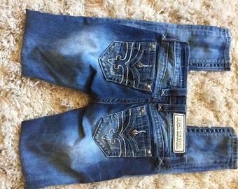 Size 24 Rock Revival Skinny Jeans