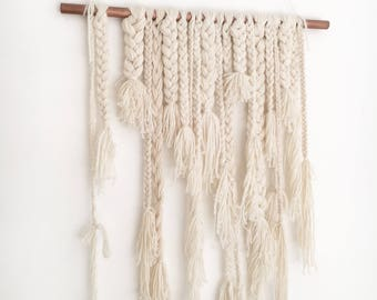 Plaited wall hanging