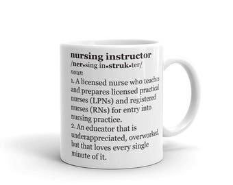 Nursing instructor | Etsy