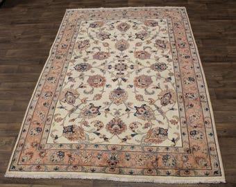 7X10 Delightful Handmade Rare Tabriz Persian Area Rug Oriental Carpet 6'6X9'9