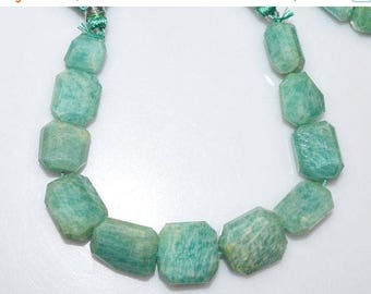 "50% OFF 1 Strand Amazonite Faceted Nuggets Briolette - Amazonite Tumble Beads ,Sold By Strand, 8x16 - 17x20 mm , 7"" - BL2982"