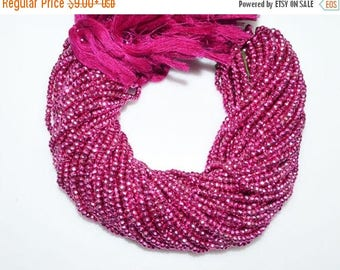 "50% OFF 1 Strand Mystic Hot Pink Pyrite Faceted Rondelle Beads , Mystic Hot Pink Pyrite Rondelle Beads , 3.50 - 4 mm , 13"" - MC979"