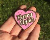 PRE ORDER Harry Styles Heart Enamel Pin