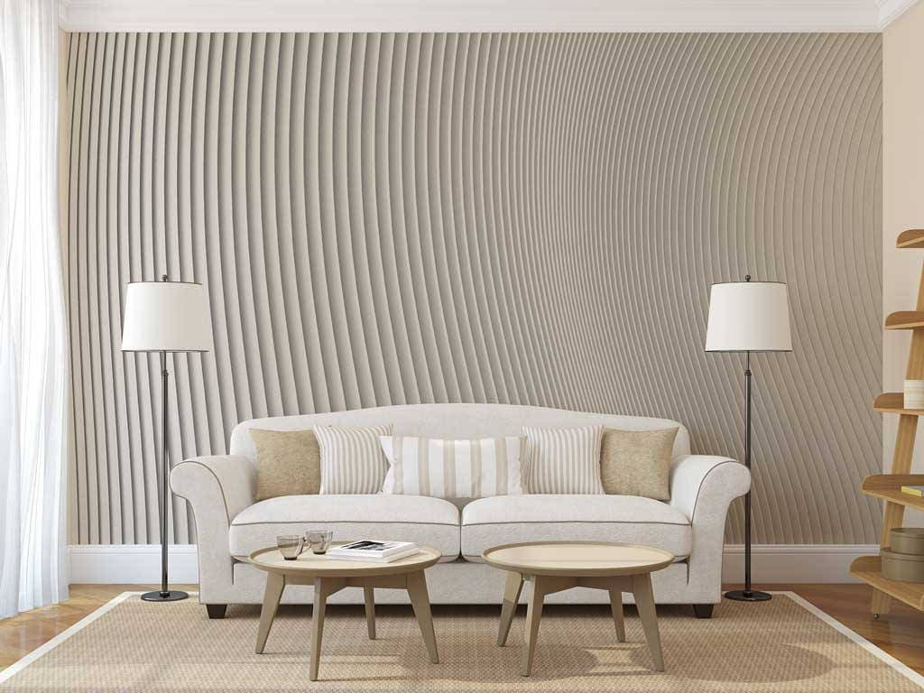 Wall Mural Abstract Embossed Wallpaper 3D Wall Decal Abstract