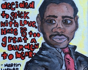 MLK: Stick with Love
