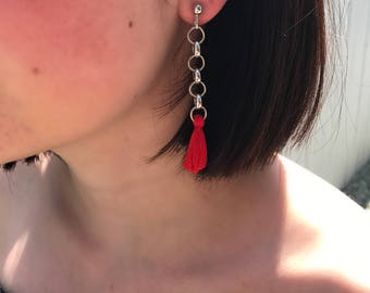 The Vertigo Tassel Earrings