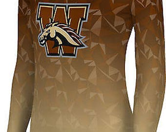 ProSphere Women's Western Michigan University Maya Long Sleeve Tee (WMU)