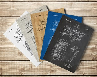 Helicopter Blueprint, Helicopter Decor, Helicopter Patent, Helicopter Poster, Airplane Nursery,Pilot Gift,Gift for Aviator, INSTANT DOWNLOAD
