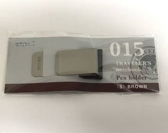 Traveler's Notebook Pen Holder S size Brown 14297006 Traveler's Company Midori Designphil Gift Free shipping Best Buy Rare New