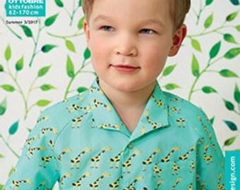 Ottobre kids 3 / 2017 summer sewing magazine sewing patterns magazine-German Hilco children