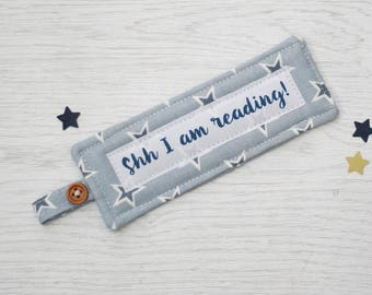 Personalised Bookmark - fabric bookmark - bookmark - gift for children - teacher gift - mother's day gift - stocking filler