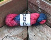 Spiderguy - Hand Dyed Superwash Merino/Cashmere/Nylon (80/10/10) - DK/Sport Weight