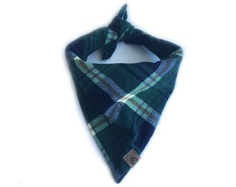 "Plaid Dog Bandana ""Dolce"""