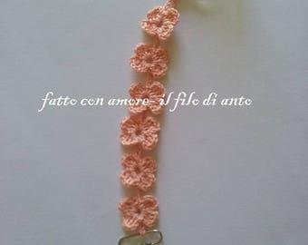Ch dummy holder in pink flowers
