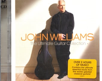 John Williams - The Ultimate Guitar Collection - 2 CD - Classical Guitar - NM