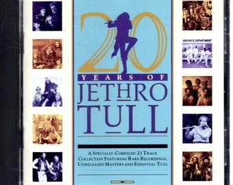 Jethro Tull - 20 Years Of Jethro Tull - CD - 1988.- VG+