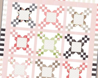 Bloomington pattern by Lela Boutique, quilt pattern