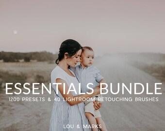 Lightroom Preset Bundle 1200+ Items Lightroom Presets & Lightroom Brushes for Portraits, Weddings and Neborns by LouMarksPhoto
