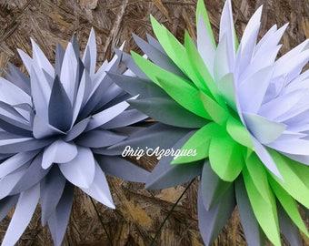 Origami Dahlia flower