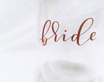 Local Delivery | Bride Tribe Custom Tumbler