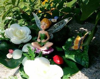 Fairy Garden Kit , Woodland Fairy Tail , Fairy Kit , Flower Fairy Girl ,  Fairy