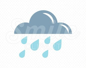 RAIN Clipart Illustration for Commercial Use | 0017