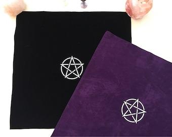 Velvet Pentagram Altar Cloth