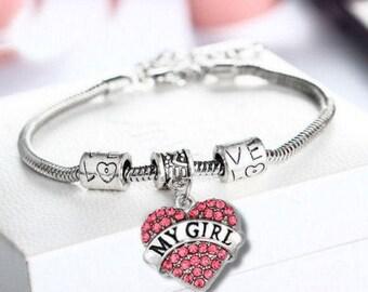 My Girl Pandora Style Bracelet