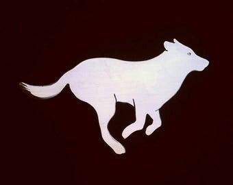Running Dog Brooch