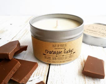 Soy Candle, Chocolate Soy Candle, Soy Wax Candle, Organic Soy Candle, Organic Candle, Chocolate Candle, Natural Soy Candle, Natural Candle
