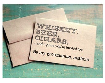 Groomsman Proposal | Be My Groomsman Card | Be My Groomsman | Ask Groomsman | Asking Groomsman | Groomsman Gift | Be My Groomsmen