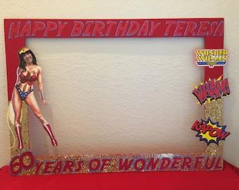 Wonder woman party etsy for Decoracion wonder woman