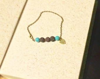 lava bead bracelet, lava stone bracelet, lava stone diffuser bracelet, lava stone beads, lava stone diffuser, essential oil bracelet lava