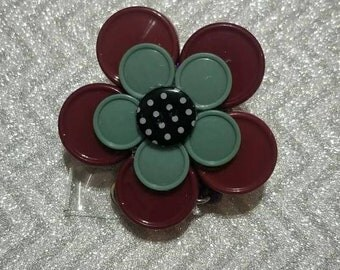 Flower badge