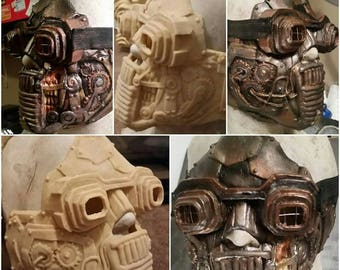 Latex steam punk  mask painted or unpainted