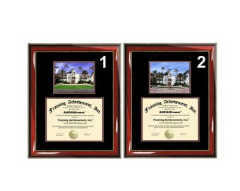 SDSU Diploma Frame San Diego State University Certificate Framing Graduation Cal Document College Plaque Campus